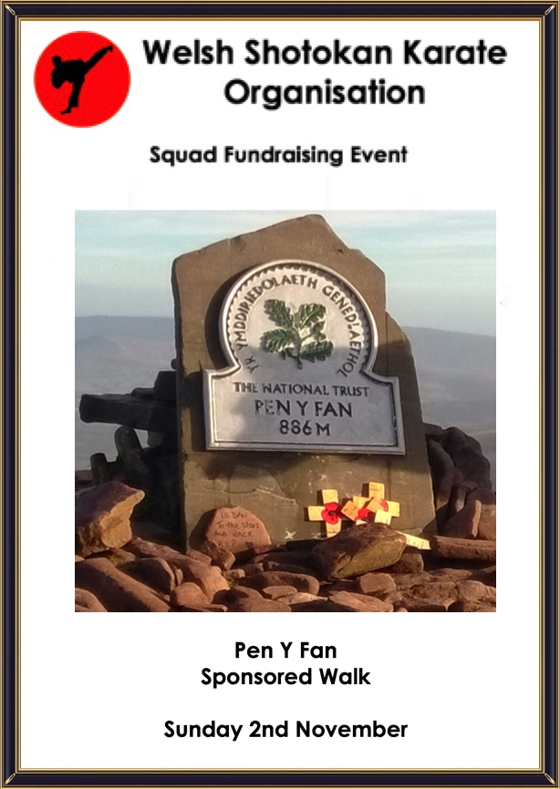 Sponsored Walk Pen Y Fan