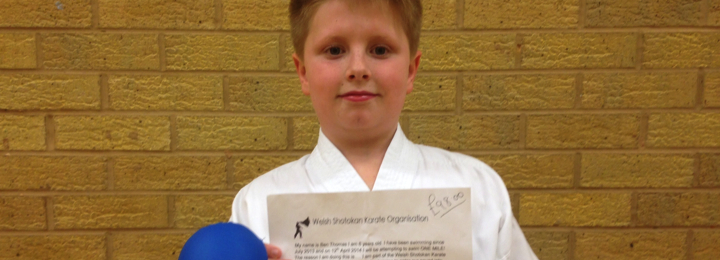 Ben Thomas Raises £98.00 for WSKO Squad