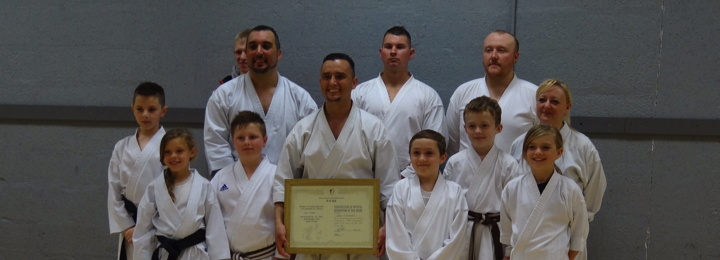 Sensei Ashcroft 6th Dan