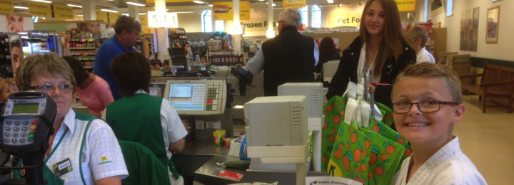 WSKO Bag Packing Morrisons