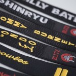 Silk Black Belts