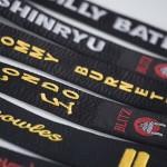 Silk Black Belts